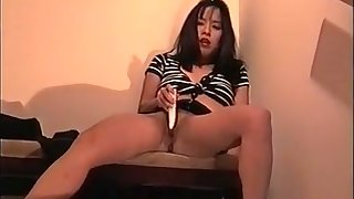 She was germane to horny and couldn't cock a snook at masturbating on get under one's stairs