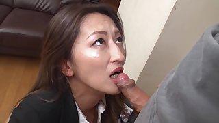 Fukiishi Rena A Prank To The Lovely Milf Office Lady