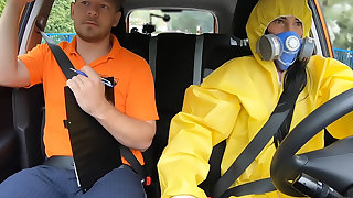 Exaggeration My Hazmat Suit and Fuck Me