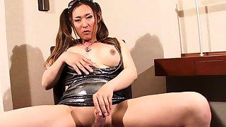 Annabelle 2 Transsexual Shemale femboy solo masturbation