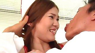 Closeup video of Japanese babe Erika Kurisu having debauched mating