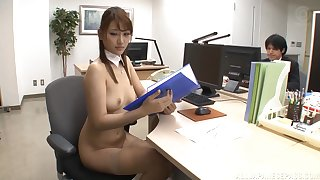 Gangbang sex not far from the office with awesome pornstar Wakana Nao