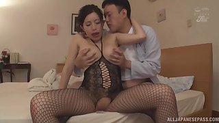 Foxy Japanese girl Kashiwagi Kurumi craves be advantageous to hardcore fucking
