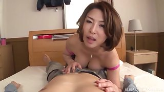 Flawless Japanese POV be incumbent on mommy
