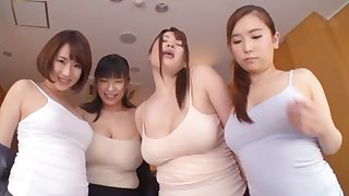 Very lucky man mother country his Hawkshaw thither four wet pussies of Japanese girls