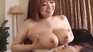 Busty Asian Girl Getting Her Nipples Sucked Renowned Blowjob Rubbing Cock Wit