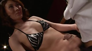 Sexy Japanese whores gets really naughty in the living room