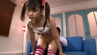 Japanese fantasy babe in unalterable sucking Part 03