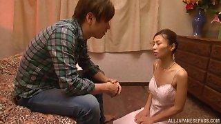 Nuru massage expert Asahina Akari decides on touching tide her purchaser